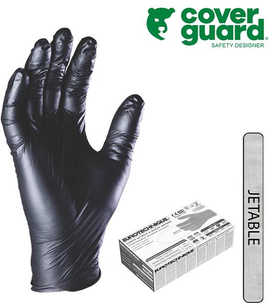 5820 latex non poudr gants - Gant latex noir ...